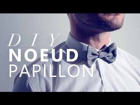 JOUR 9 : TUTO NOEUD PAPILLON FACILE - EASY BOW TIE DIY