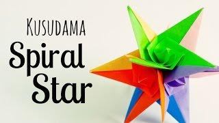 getlinkyoutube.com-origami Spiral star instructions (Grzegorz Bubniak)