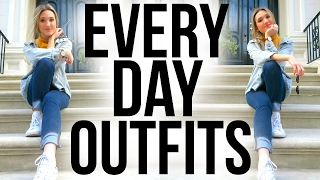 EVERYDAY NYC OUTFITS | Casual Outfits OOTW 2017! Street Style!