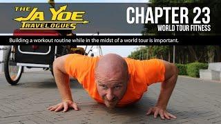 getlinkyoutube.com-World Cycle Tour Fitness Program | JaYoe Travelogue | Chapter 23