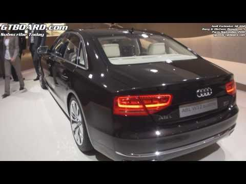 1080p: Audi Exclusive A8 W12 and Beosound 5