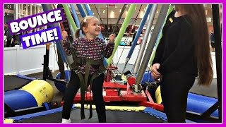 FAMILY FUN TRAMPOLINE BOUNCE TIME!
