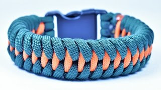 "getlinkyoutube.com-How to make the ""Dragon Teeth"" Paracord Survival Bracelet - Bored Paracord"