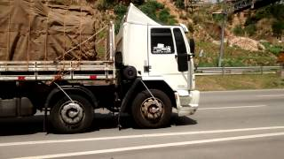 getlinkyoutube.com-Ford cargo  bitruck carregado na pressão..