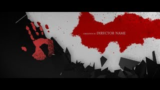 After Effects Template :: Blood Whispers - Opening Titles