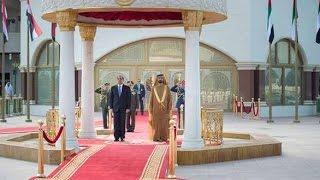 getlinkyoutube.com-مراسم استقبال الرئيس السيسى فى الامارات  - AlSisi in the UAE