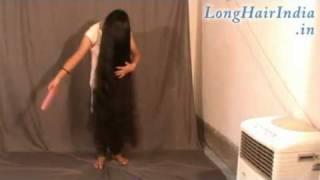 getlinkyoutube.com-Sweet Knee Length Long Hair Model Dimple