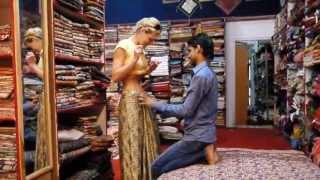 getlinkyoutube.com-India, Jaipur, Silk Saree