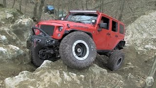 Jeeps Rock Crawling: The Trailer Queens