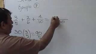 getlinkyoutube.com-suma de tres fracciones o mas