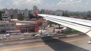 getlinkyoutube.com-Avianca Turbulent Takeoff Sao Paulo