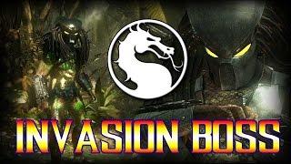 getlinkyoutube.com-Mortal Kombat X: Predator Invasion Boss!