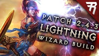getlinkyoutube.com-2.4.3 Wizard Lightning Build - Diablo 3 Reaper of Souls Season 9