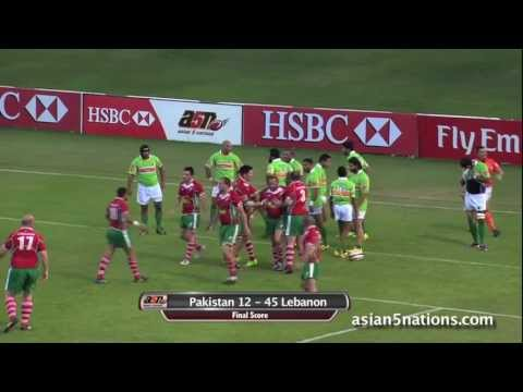 Lebanon beat Pakistan, advance to 2014 Division 3