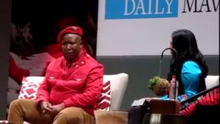 EFF CIC Julius Malema on Daily Maverick debate part 5