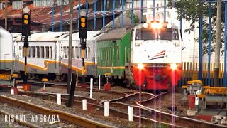 getlinkyoutube.com-Kereta Api Eksekutif Argo Muria Berangkat dari Stasiun Semarang Tawang