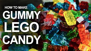 How To Make LEGO Gummy Candy! width=