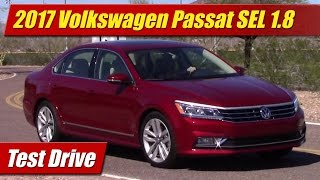 getlinkyoutube.com-2017 Volkswagen Passat SEL 1.8: Test Drive