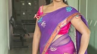 getlinkyoutube.com-Jayavani Aunty Romantic Saree Video
