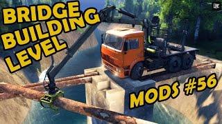 getlinkyoutube.com-Spin Tires|Mod Review #56 - Bridge Building Level
