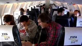 getlinkyoutube.com-Leo   Messi y Antonela Roccuzzo rumbo a  Zurich