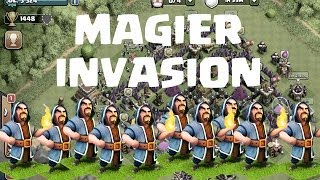 getlinkyoutube.com-MAGIER INVASION! || CLASH OF CLANS || Let's Play Clash of Clans [Deutsch/German HD]