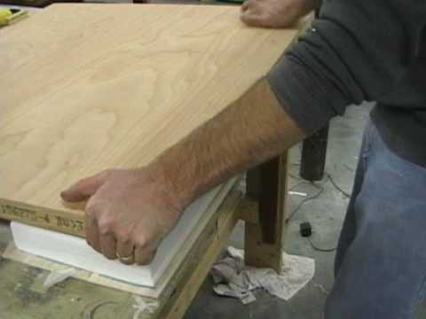 sheeting a foam wing part 5