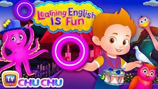 ChuChu TV Learning English Is Fun™ | Alphabet O Song | Phonics & Words For Preschool Children