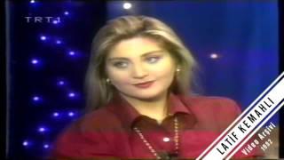 Sibel Can trt 1 Bir Başka Gece Röpörtaj Türk Sanat Müziği 1992 Nostalji Konser Kaset9