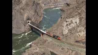 "getlinkyoutube.com-Canadian National & Canadian Pacific - ""Black Canyon"" - 2013"