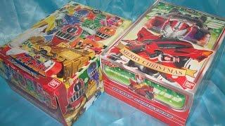 getlinkyoutube.com-クリスマスケーキ キャラデコ ドライブ&トッキュウジャー Christmas cake drive toqger