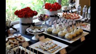 Best Buffet table decorating ideas