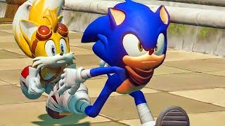 getlinkyoutube.com-Sonic Boom Rise of Lyric #01: Primeira Gameplay - Exclusivo Nintendo Wii U