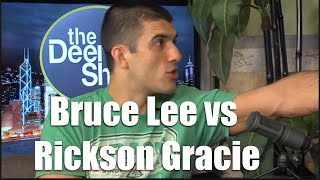 "getlinkyoutube.com-UFC | Bruce Lee vs Rickson Gracie (Gracie Breakdown with Rener Gracie ""Saved by the bell"")"
