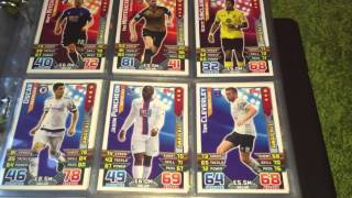 getlinkyoutube.com-Match Attax 2015-16 and Extra Binder Update with Master, signed, error and other cards