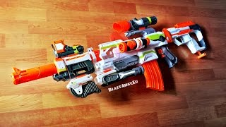 getlinkyoutube.com-[REVIEW] Complete Nerf Modulus Line | all upgrade kits 2015