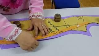Teknik Membuat Baju Kebaya Tradisional Bahagian 1