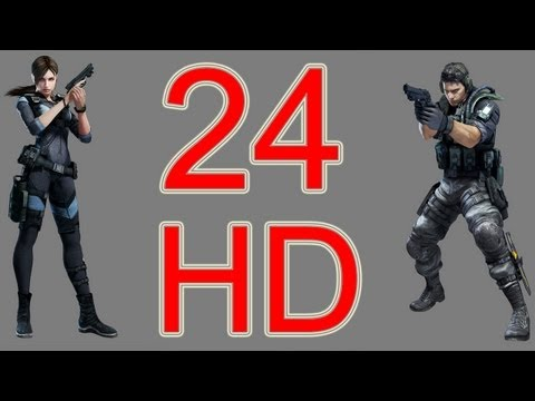 Resident Evil Revelations Walkthrough part 24 HD Consoles Version let's play PS3 XBOX PC