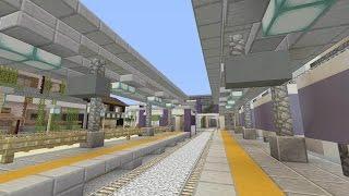 【MineCraft】一級建築士を目指して!! 第30話 ~駅/Station~ 【実況】