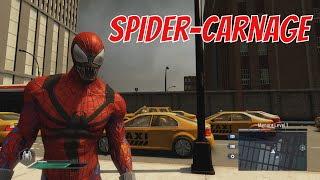 getlinkyoutube.com-The Amazing Spider-Man 2 - Spider-Carnage Suit Unlock and Gameplay