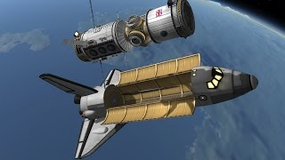 getlinkyoutube.com-KSP: Building a Space Station!