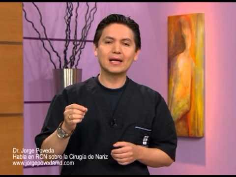 Cirugía de Nariz RCN Doctor Jorge Poveda