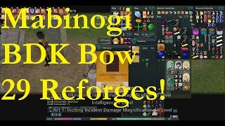 getlinkyoutube.com-Mabinogi: Using 29 Reforges on a BDK Bow