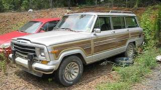 getlinkyoutube.com-1987 Jeep Grand Wagoneer Attempt To Start, Engine, and In Depth Tour