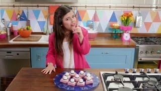 getlinkyoutube.com-Sophia Grace   Pop Star Treats: Bruno Mars Uptown Fudge (Easy Fudge Recipe)   Maker Studios SPARK