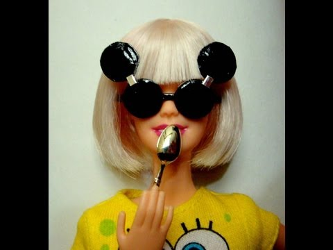 Lady GaGa as a barbie doll