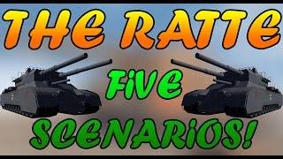getlinkyoutube.com-Men of War Assault Squad 2 - The Ratte vs The Ratte vs Abrams and More! Editor Scenario #15