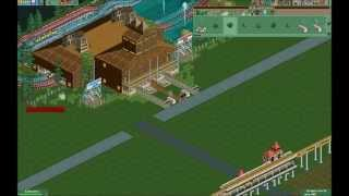 getlinkyoutube.com-RCT2 Time Lapse Part 3: Carbon Heights - Timber Woods The Carbonator