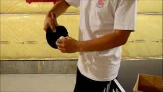 getlinkyoutube.com-Reverse Topspin Sidespin Serve (Timo Boll's Serve) Tutorial