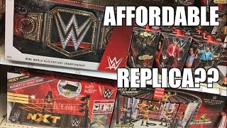 getlinkyoutube.com-NEW WWE CHAMPIONSHIP REPLICA BELT AT TRU! AFFORDABLE EXCLUSIVE BOUGHT UNBOXED AND REVIEWED!